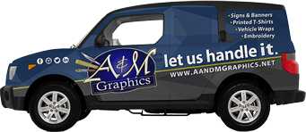 A&M Graphics Vehicle Wrap