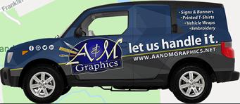 A&M Graphics Vehicle Wrap